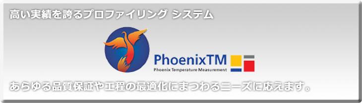 フェニックス社の炉内温度測定プロファイリングシステム