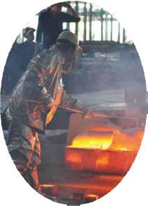 鋼鉄スラブ再加熱システム